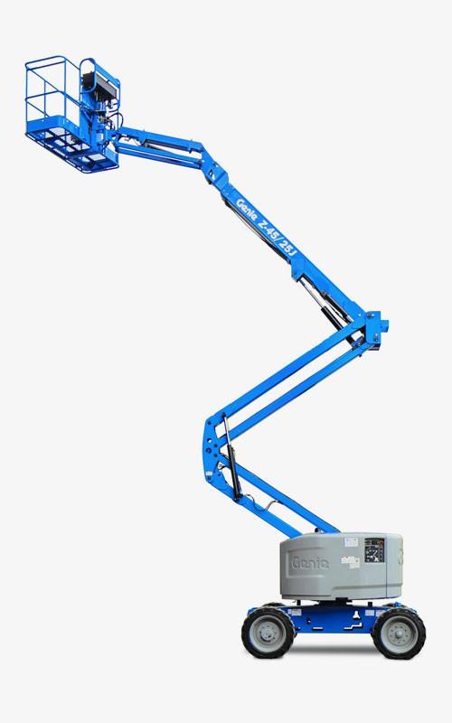 Locação de plataforma articulada em são paulo