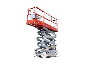 Plataforma elevatoria tesoura aluguel
